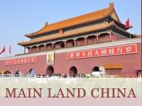 MAIN LAND CHINA